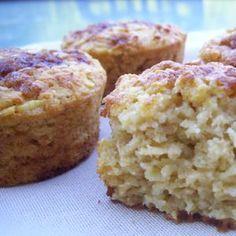 Légèreté & Gourmandises: Muffins de flocons d'avoine aux pommes (4 PP) Pie Co, Patisserie Cake, Ww Desserts, Yummy Food, Tasty, Biscuit Cookies, Coco, Food Porn, Food And Drink