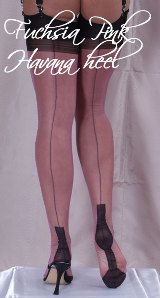 Touchable - UK shop for fully fashioned stockings, RHT, suspender belts, lingerie, delivery world-wide Fully Fashioned Stockings, Havana, Hosiery, Contrast, Lingerie, Heels, Pink, Shopping, Style