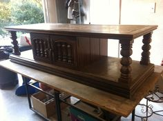Back Side Of Quot Dallas Cowboy Stadium Quot Coffee Table On My