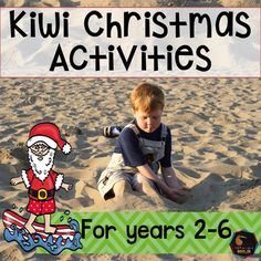 Kiwi or New Zealand Christmas activities, art, crafts and puzzles.Are you a NZ classroom teacher looking for end of the year and Christmas activities? Want something that reflects where we live?  Want summer themed Christmas activities? Want something that is easy to use?I have you covered This pack is full of 'print and go' activities suitable for Years 2-6 with New Zealand themed Christmas activities and worksheets- there is minimal preparation required!Included are: reading and worksheet…