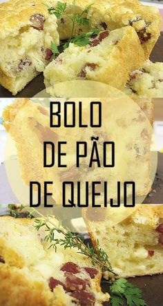 Receita incrível de Bolo de pão de queijo com linguiça e provolone (sem glúten) | ideal para o lanche da tarde | receita rápida