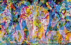 La tapicería iluminada de Carnovsky/ El dúo milanés que conforma Carnovsky lleva el arte de papel tapiz a nuevas dimensiones conjurando bosques animistas donde el trompe loeil y la metafísica conviven en un mismo paisaje encantado. Los diseñadores y artistas Francesco Rugi y Silvia Quintanilla (nacida en Colombia en 1979) trastocan paisajes bucólicos y escenas pastorales con iluminación LED y patrones geométricos que reconfiguran el arte clásico, apelando a una nueva audiencias,…