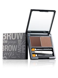 Benefit Cosmetics Brow Zings has a coloured wax and a soft powder to work in the perfect brow colour and shape, with two brushes and tweezers to get it right. Not only does it have everything you need in one tiny palette - it even has a step-by-step downloadable tutorial.Brow Zings Brow Shaping Kit, £22.50, Benefit Cosmetics -Cosmopolitan.co.uk