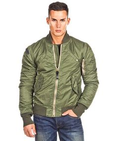 #men #style - #flight #jacket