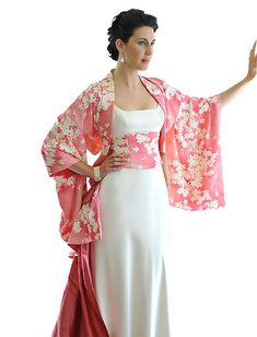 Modern Japanese wedding dress
