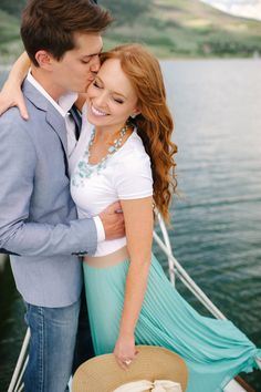 Abbie + Andy go Sailing (part 1) » Michele Hart Photography - engagement photos on Lake Dillon, Colorado