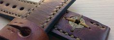 SNPR Straps Vintage leather watch strap gunfighter