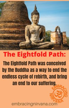 The Eightfold Path - Buddhist Teachings. Learn about the Eightfold Path to Enlightenment at EEmbracing Nirvana. #eightfoldpath #Buddhism #Zen #embracingnirvana Buddhism Zen, Buddhist Teachings, Spiritual Awakening Quotes, Motivational Quotes For Success, Nirvana, Lotus Flower, Paths, Fun Facts, Spirituality