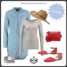 "Frühling/Sommer 2016 Trendfarbe ""Serenity"" : Outfit für den Sommertypen oder ""cool, light, muted"""