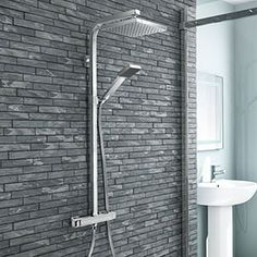 BUY NOW Milan Modern Chrome Thermostatic Showeris free HD Wallpaper. Thanks for you visiting BUY NOW Milan Modern Chrome Thermostatic Shower. Gothic Home, Gaudi, Bathroom Shower Panels, Waterproof Bathroom Wall Panels, Bathroom Showers, Bath Shower, Mixer Shower, Roll Top Bath, Shower Valve
