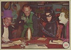 1966 Batman Cards Value | ... card number 34 year 1966 set name 1966 batman color number of cards in