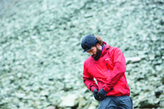Offering a perfect balance between wet weather protection and user friendly practicality, the Berghaus Arran Jacket is essential for the experienced trail walker. Packed with ergonomic designs, not only does the jacket safeguard the user from any adverse conditions with its Hydroshell™ technology, it also provides ample storage space with its four pocket design. Teamed with the malleable, wire rimmed hood, this jacket offers so much in such a light, packable garment. Product Code: #178915