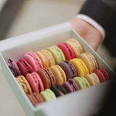 These macarons are perfect.... (from laduree, nyc)