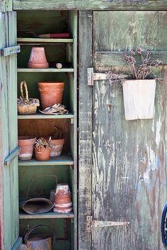 Gardener's Cabinet | Flickr - Photo Sharing!