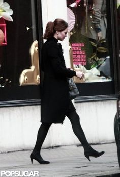 Kate Middleton out shopping at Harvey Nichols in London today. November 10, 2012