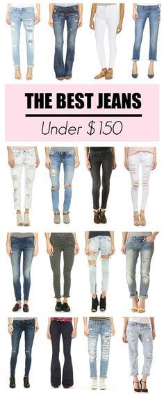 Best Jeans Under $150