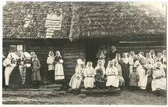 Seto naised rahvariides, 1932. EAA 2111-1-15397, foto nr 1