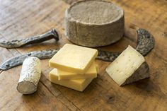 Locally made cheese by Monforte Dairy. Local iron by Stratford Ontario, Writers, Dairy, Iron, Cheese, Sign Writer, Irons, Author, Authors