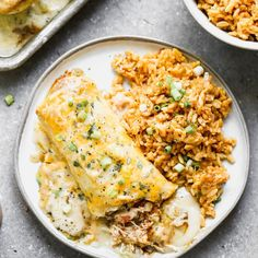 """Lauren Allen's Instagram post: """"Oh MY these SMOTHERED GREEN CHILI CHICKEN BURRITOS are Mexican Restaurant quality, delicious! AND, they're FREEZEABLE! So make a double…"""""""