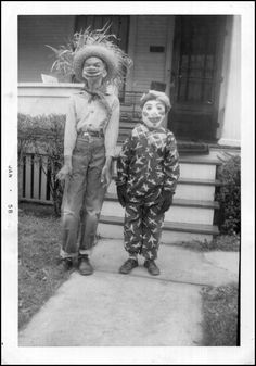 The Pictorial Arts: October 2010 | Vintage Halloween photo from 1957. #photography