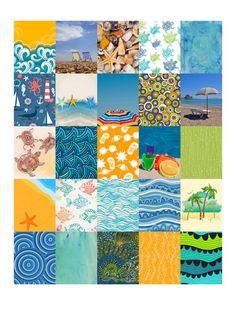 Beach Stickers for Life Planner Printable/Digital by ArtByMarnie