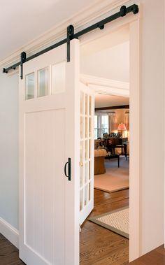 Utility room door.