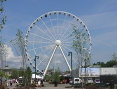 great smoky mountain skywheel at the Island in pigeon forge tennessee
