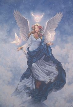 This is Archangel Haniel. She helps us connect with the energy of the Moon.  Connect with me on FB to learn more about Angels: https://www.facebook.com/connectwithcarrieblanda
