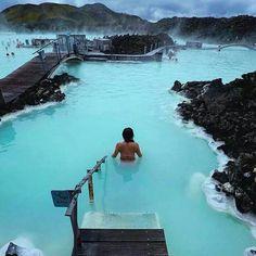 Lagoa Azul, Grindavík, Islândia