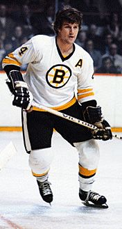 Bobby Orr Number 4 Other players played longer or put up better career numbers, but no player in NHL history was as dominating or as talented as Robert Gordon Orr. Boston Bruins Hockey, Hockey Mom, Ice Hockey, Hockey Stuff, Boston Sports, Boston Red Sox, Hockey Pictures, Bobby Orr, Toronto
