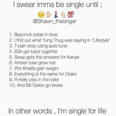 lmao this is hilarious and i'm not even single