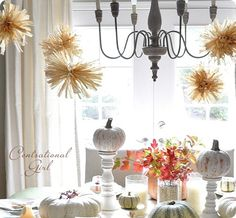 Great fall decor-not dark and cheesy like most.