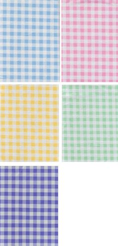 Plastic Checkered Round Table Cloths   Pastel Gingham Check Vinyl Tablecloth Easter Everyday Assortment ...