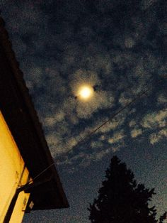 Moon in the night! Nizza