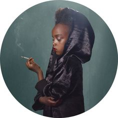 Glamorous Photos of Kids Smoking by Frieke Janssens| Mother Jones
