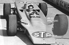 Jim Clark in Lotus Turbine Indy racer