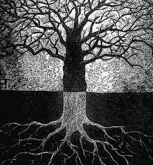 I LOVE anything to do with trees....drawings, paintings, sculpture,etc.