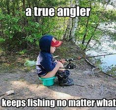 Omg this could so be Brayden.. Bubba loves fishing