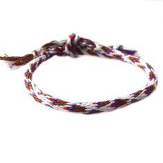 #bransoletka #kumihimo z muliny #babeczki na DaWanda.com