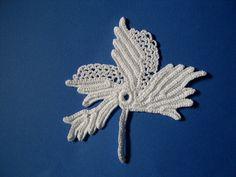 crochet grape leaf