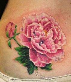 Peony Tattoo, I've decided on getting maybe a half sleeve of these.
