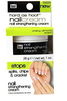 Hard As Hoof Nail Strengthening Cream with Cherry Almond ... https://www.amazon.com/dp/B005HGWGVS/ref=cm_sw_r_pi_dp_x_Mfw8xbTVTJE0E