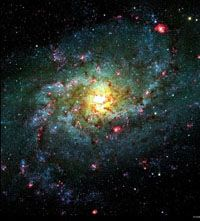 M33: Triangulum Galaxy, spiral galaxy in Triangulum. Messier Image Gallery