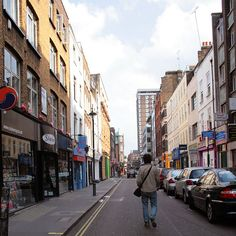 Berwick Street, Soho, London.
