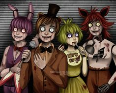 5 nights at freddy's | five nights at freddy's by Nasuki100 ((tw eye horror) Welp, like I was gonna sleep any time soon!))