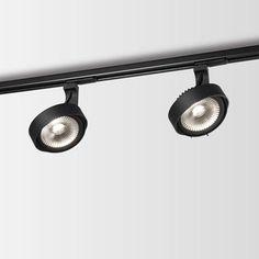 Wever & Ducre Pluxo On Track 1.0 LED111 Zwart