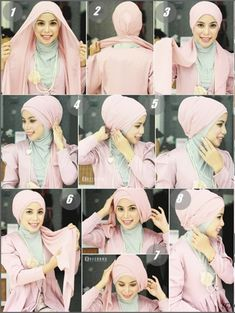 Turban-Hijab-Style Hijab Tutorial