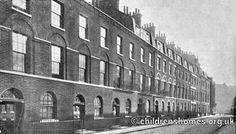 Sekforde Street homes, John Groom's Crippleage and Flower Girls' Mission, Clerkenwell, early 1900s. ©PeterHigginbotham