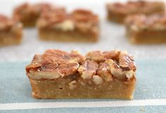 If you love Pecan Pie, you're going to LOVE these Thermomix bars! | Bake Play Smile