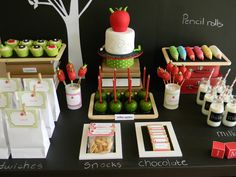 Party Printables | Party Ideas | Party Planning | Party Crafts | Party Recipes | BLOG Bird's Party: Back to School Party + FREE Printables!!...